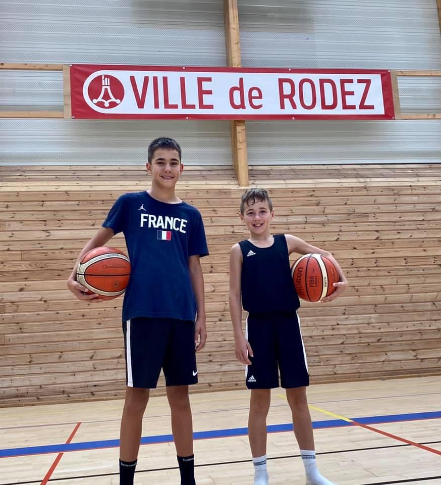 Jeunes basketteurs RBA