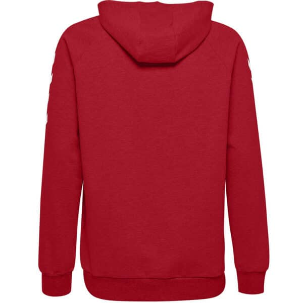 Hml Go Cotton Hoodie Homme Rouge