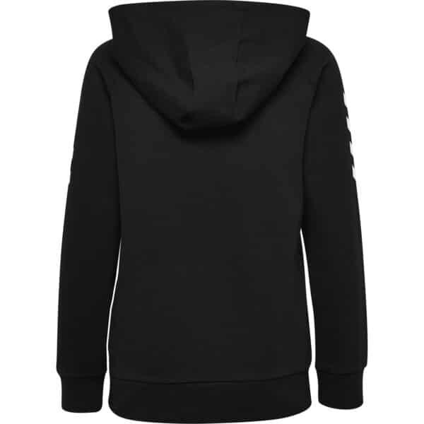 Hml Go Cotton Hoodie Femme Noir