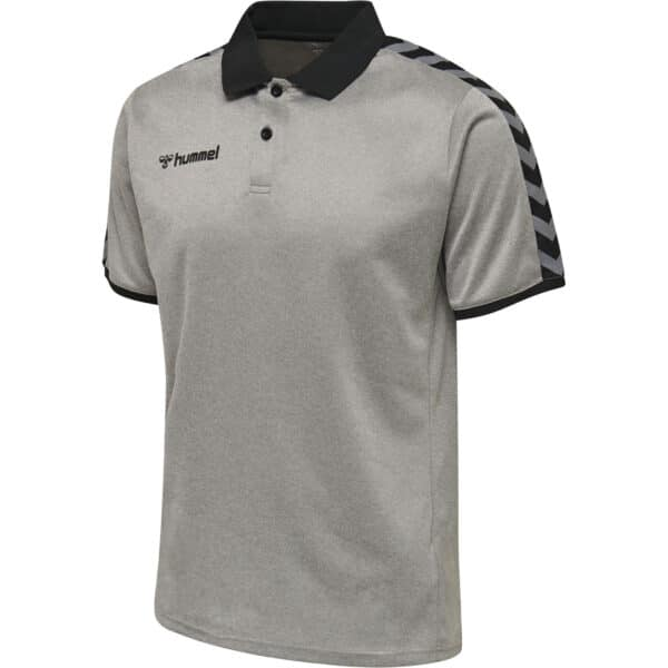 Hml Authentic Functional Polo Homme Gris