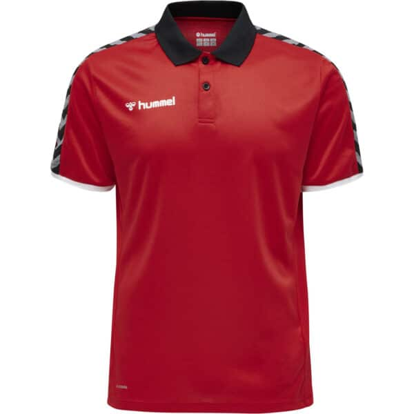 Hml Authentic Functional Polo Homme Rouge