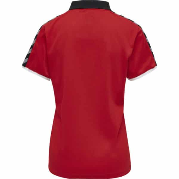 Hml Authentic Functional Polo Femme Rouge