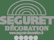 Logo Séguret Décoration en gris