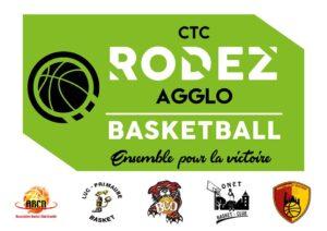 Logo CTC Rodez Agglo Basketball